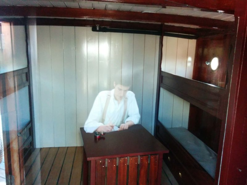 onboard visual displays on the Cutty Sark Ship