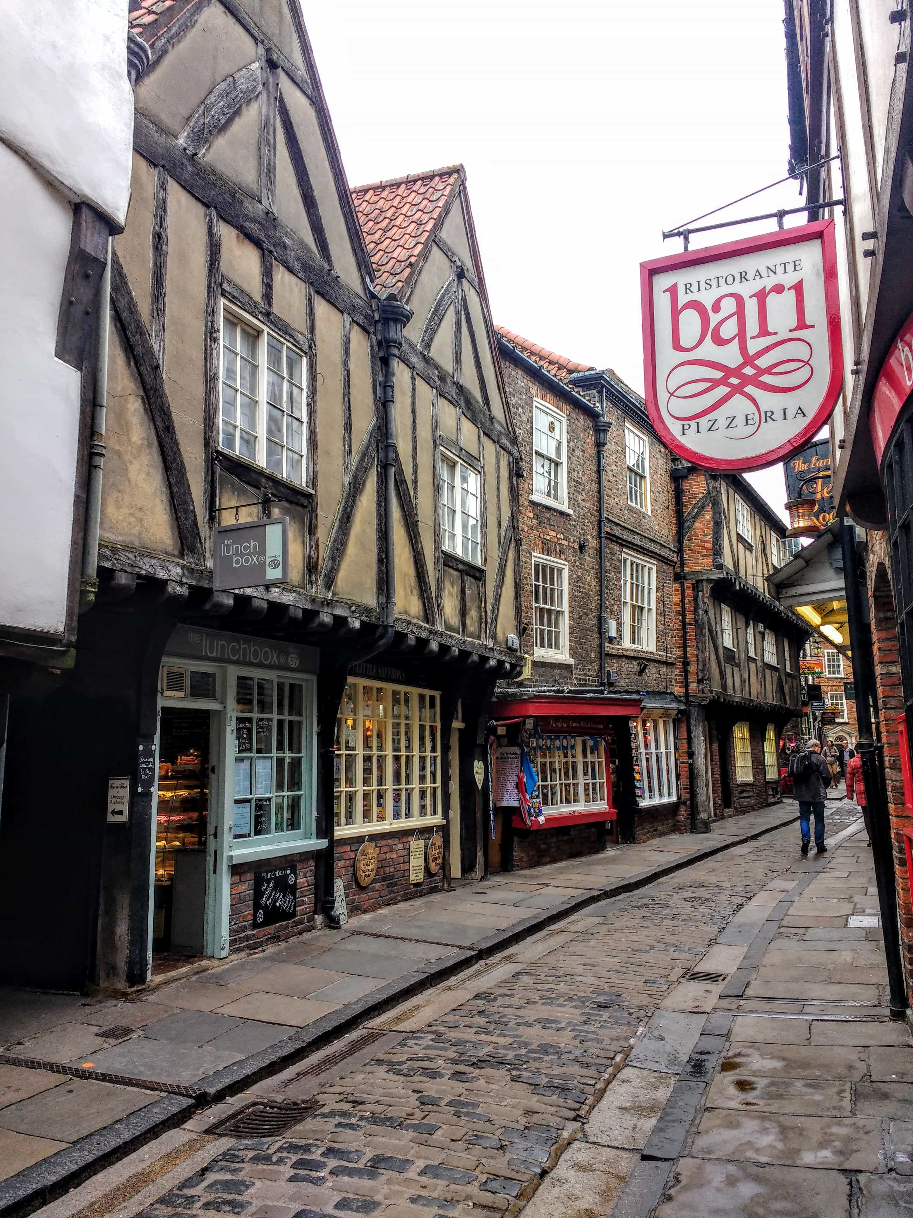 The Shambles York the oldest medieval street in the world