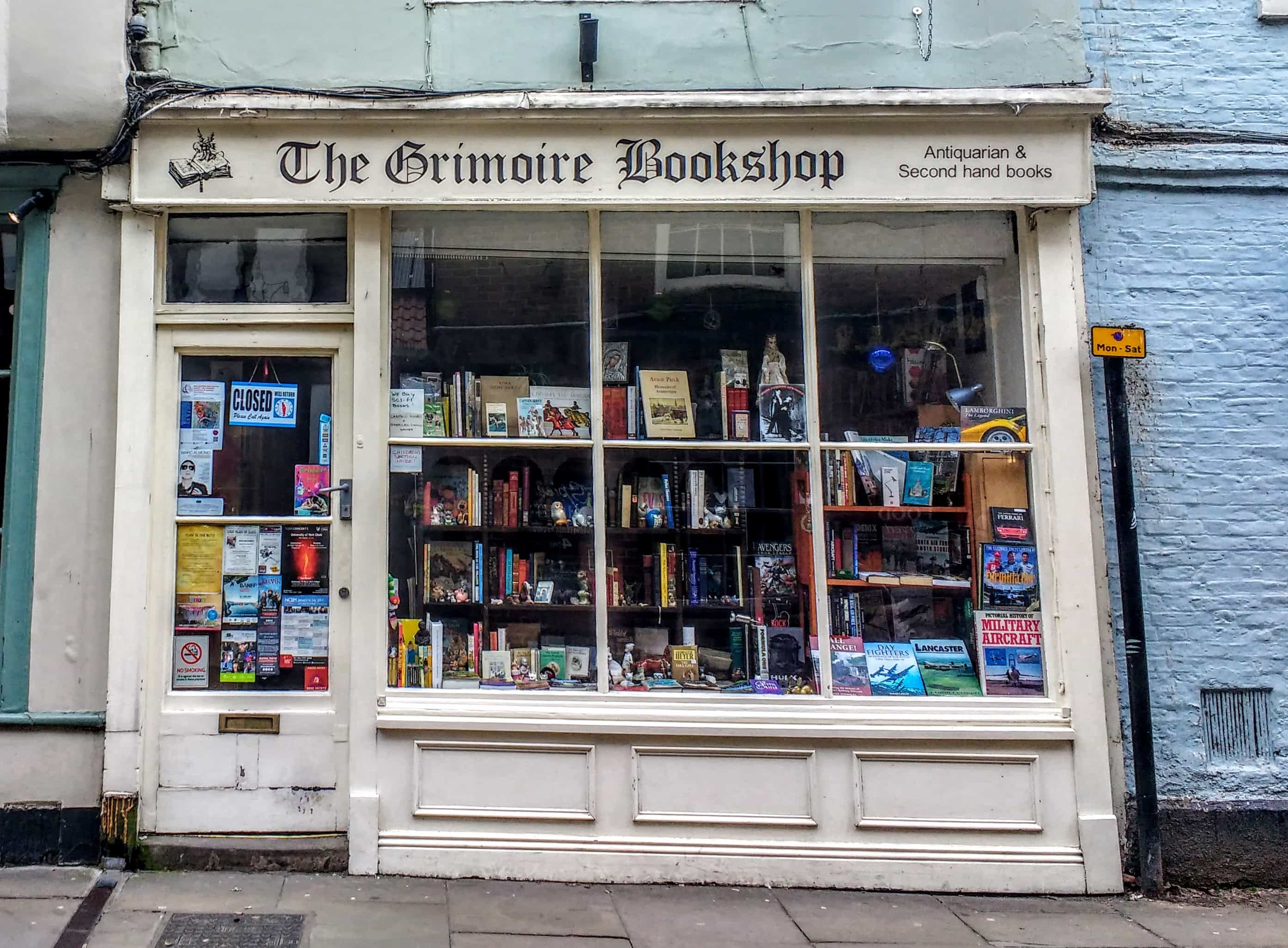 the grimoire bookshop THE sHAMBLES