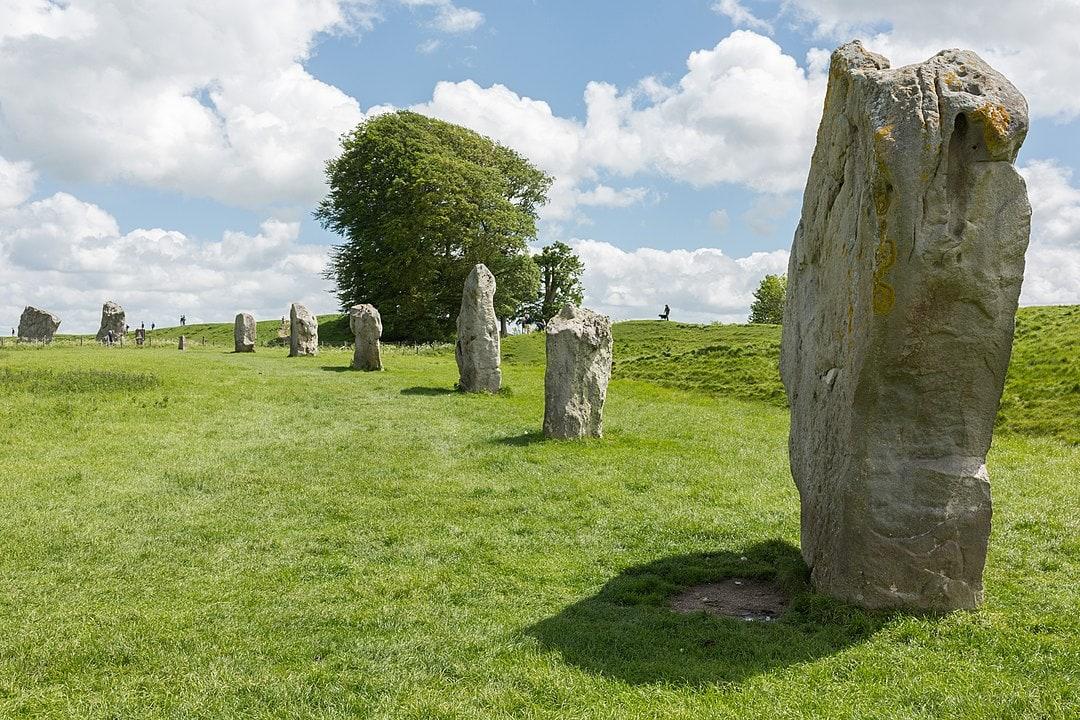 Avebury Henge standing stones