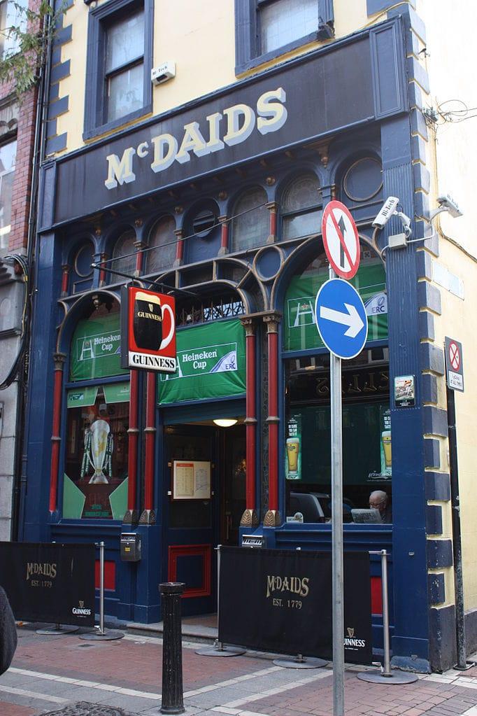 famous pubs in Dublin McDaids