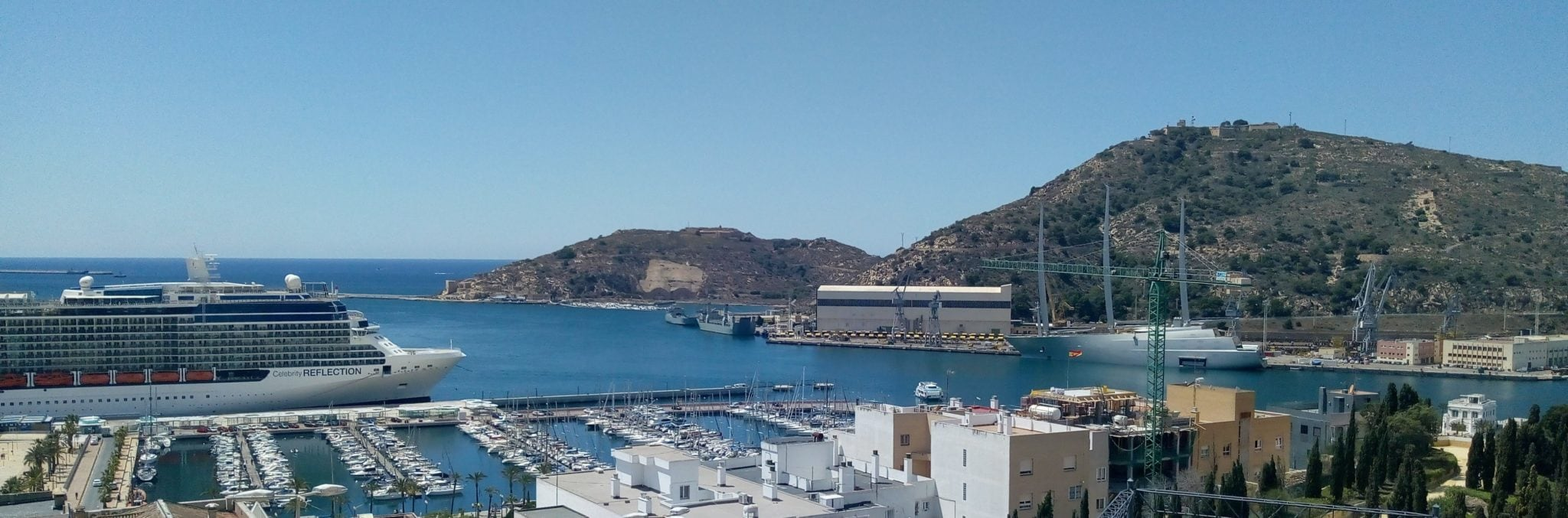 Cartagena Spain cruise ship port