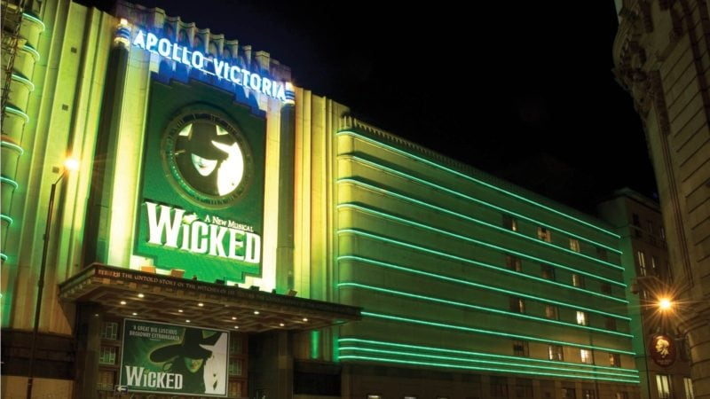 Wicked at the Apollo Theatre