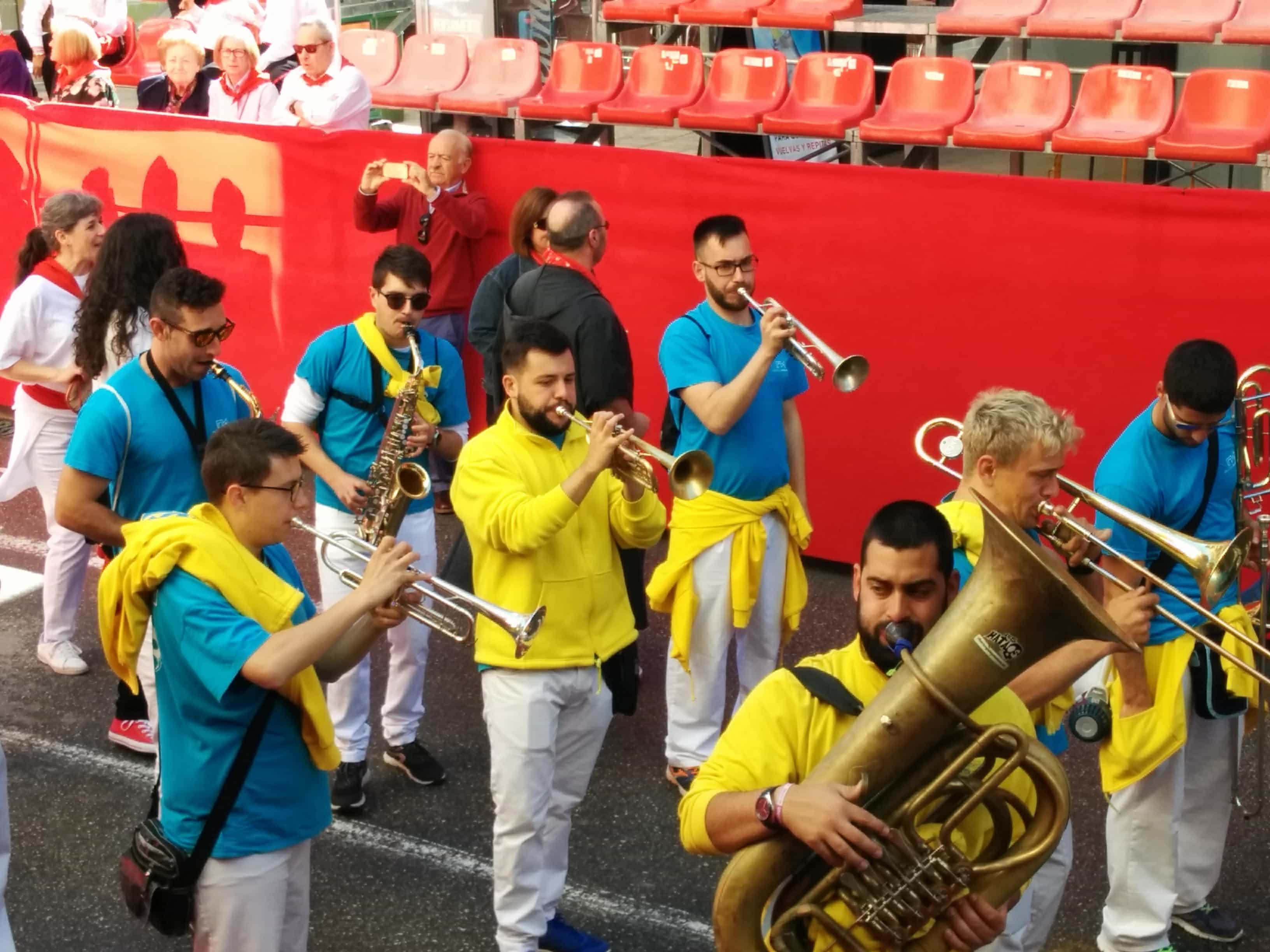 brass bands for the Wine Horses festival
