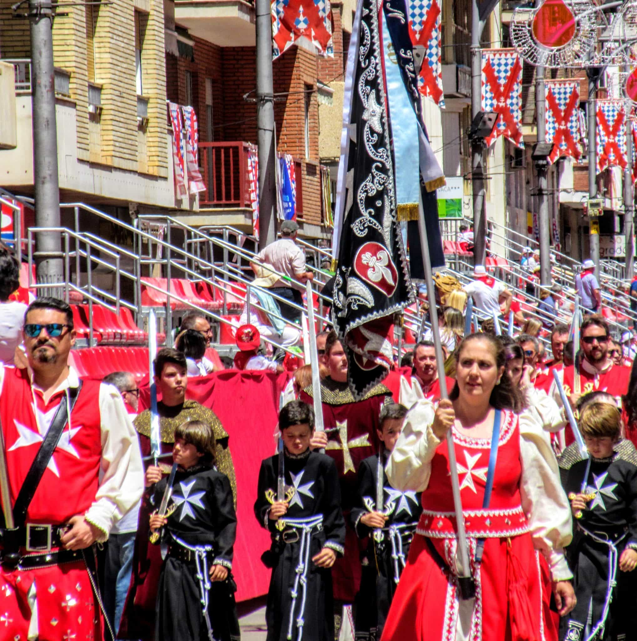 Caravaca de la Cruz the beautiful Festival of Wine Horses