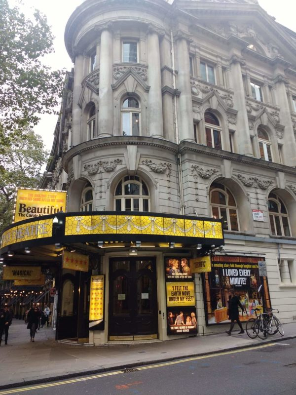 Famous Theatres in London