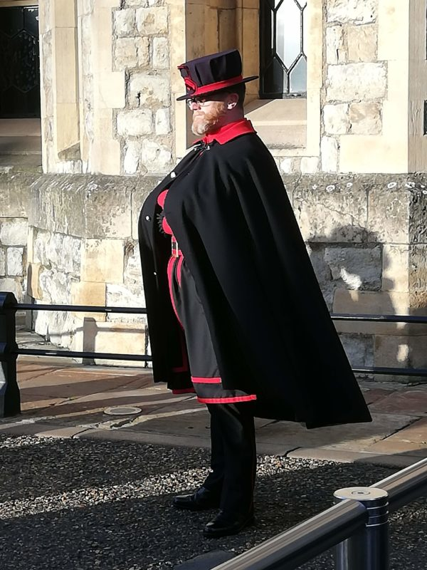A Yeoman at the Tower of London
