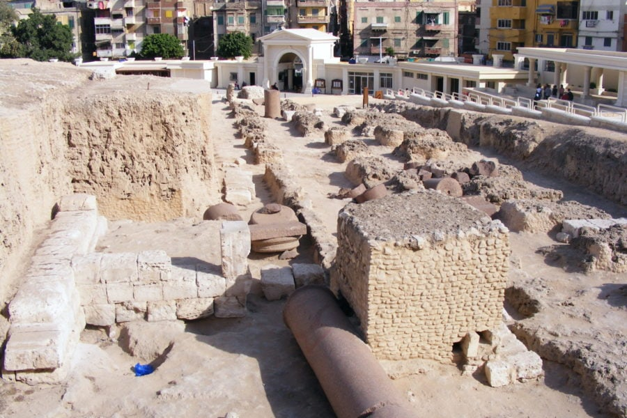 2 days in Alexandria you must visit the ruins of the Serapeum and tour the underground catacombs