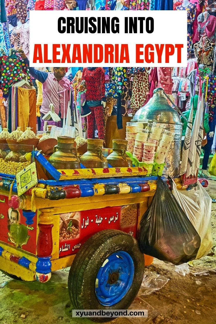 1 day in Alexandria Cruising to Ancient Egypt