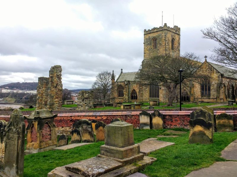 Bronte Country St. Mary's church where Anne Bronte is buried