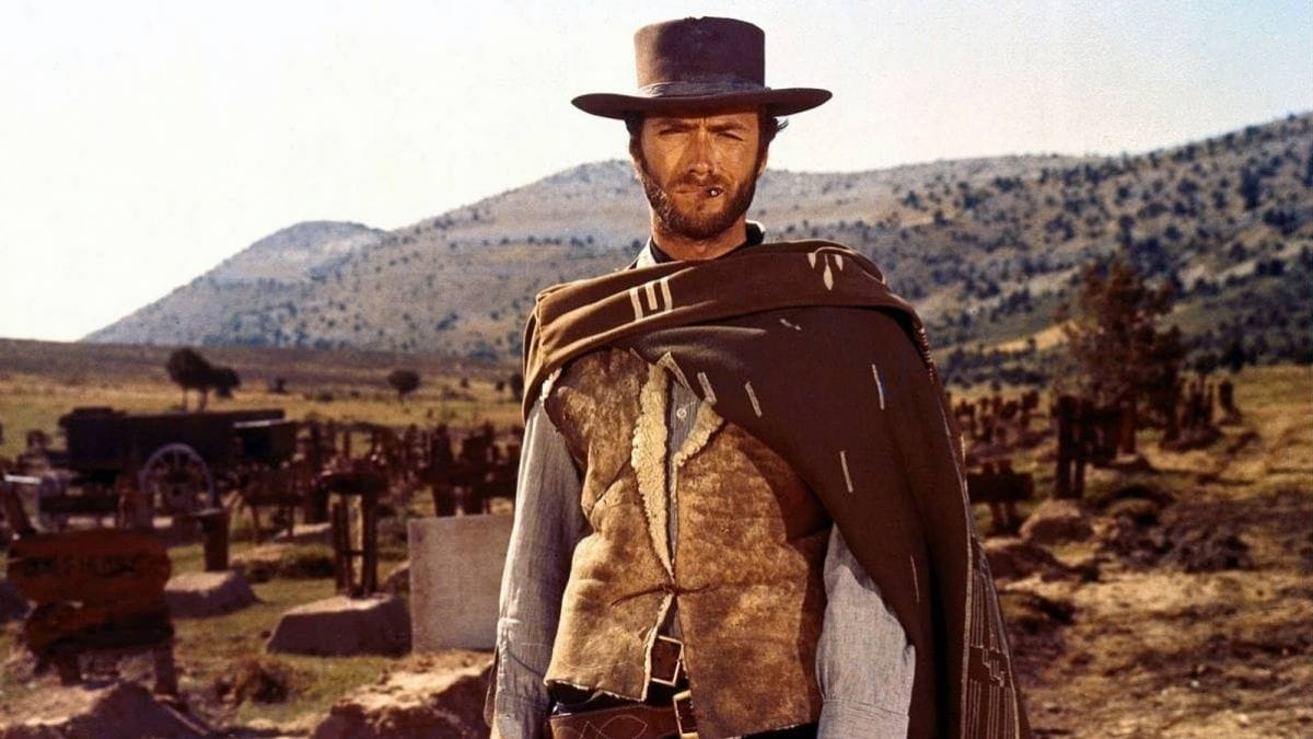 Clint Eastwood photo filming a Fistful of Dollars in Spain