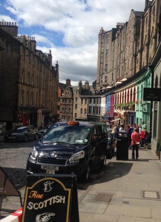 Edinburgh is a walking city so be prepared on your trip to Edinburgh to walk a lot