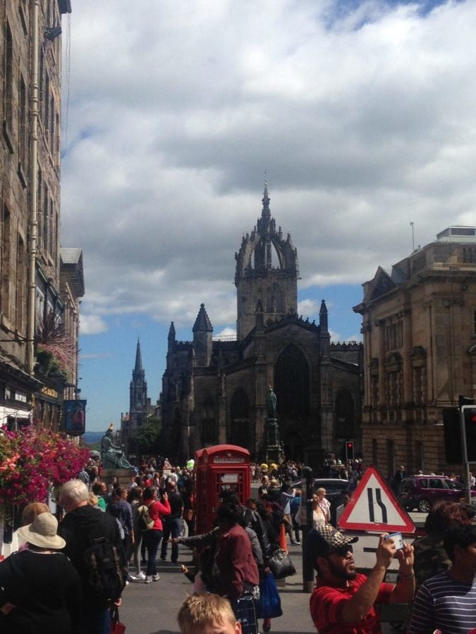 my one day trip to Edinburgh the streets of this beautiful city