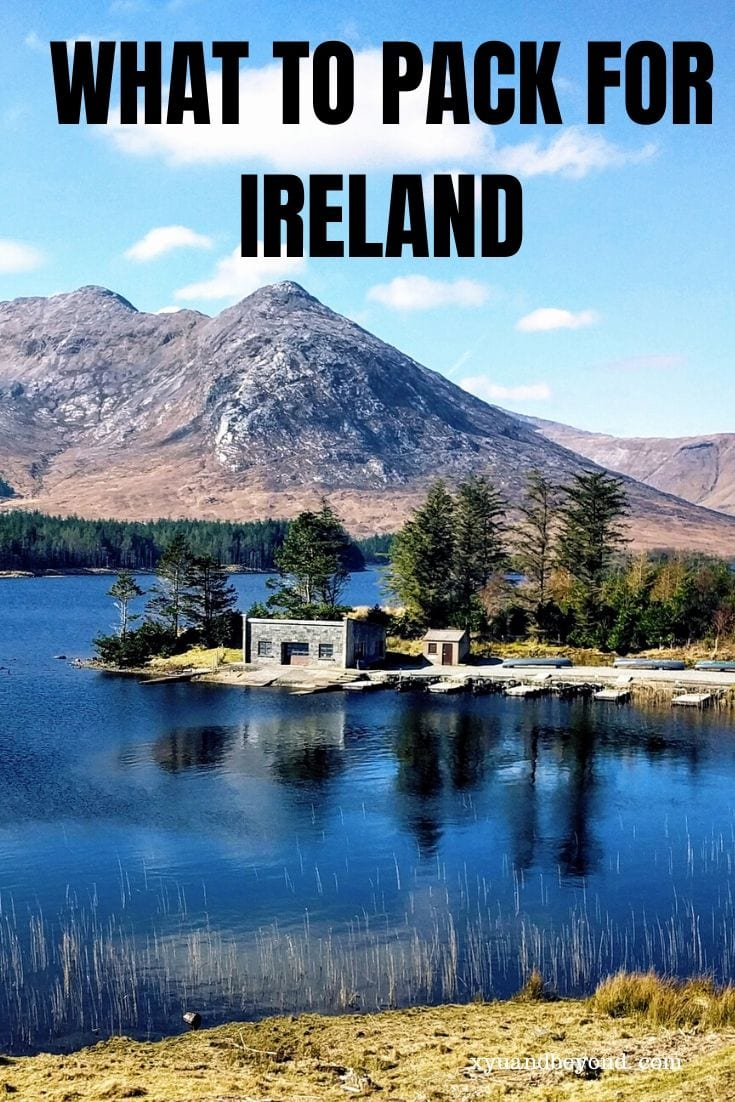 What to pack for Ireland at anytime of year