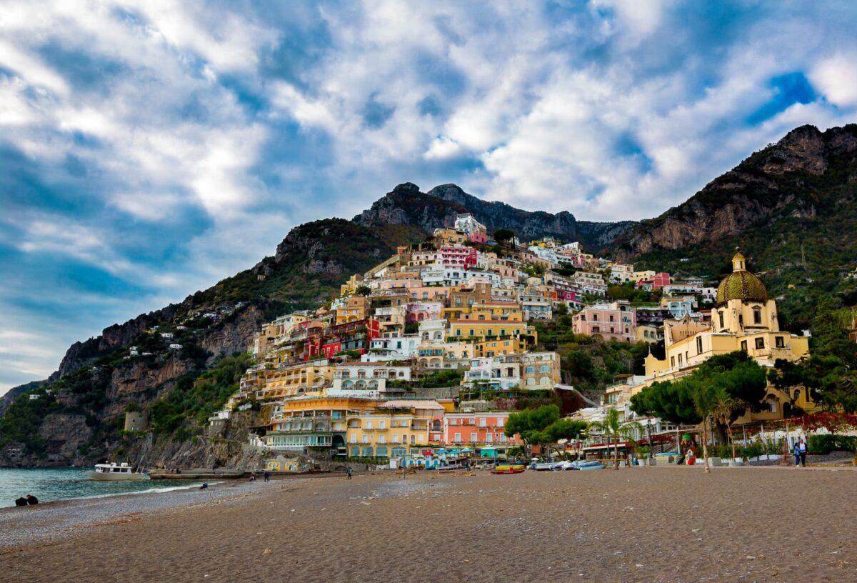 the beautiful Amalfi coast cities