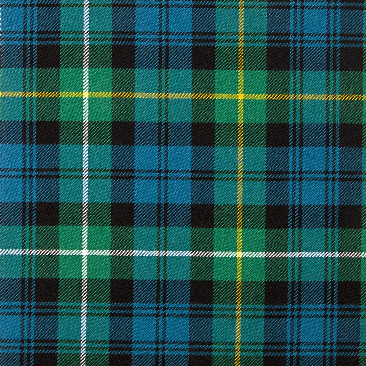 Campbell Tartan used in the fliming of Downton Abbey