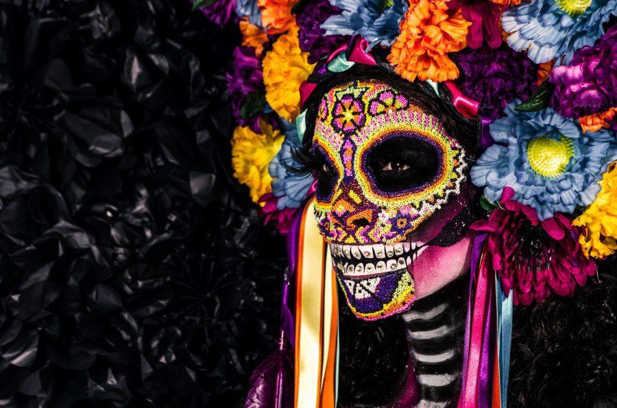 Calaveras and dia de los Muertos skulls (Day of the Dead)