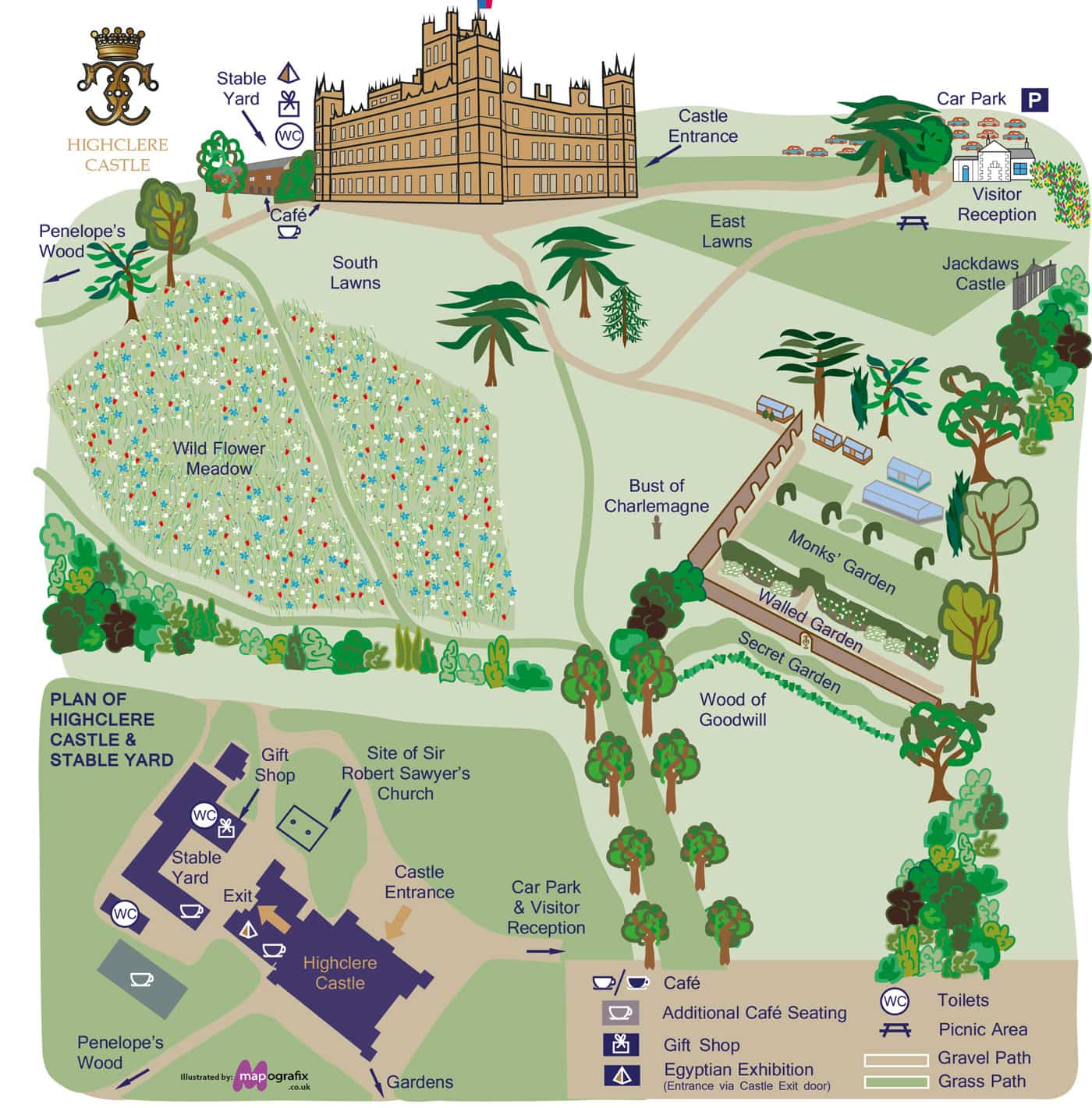 Tips for Visiting Downton Abbey filming site Highclere Castle