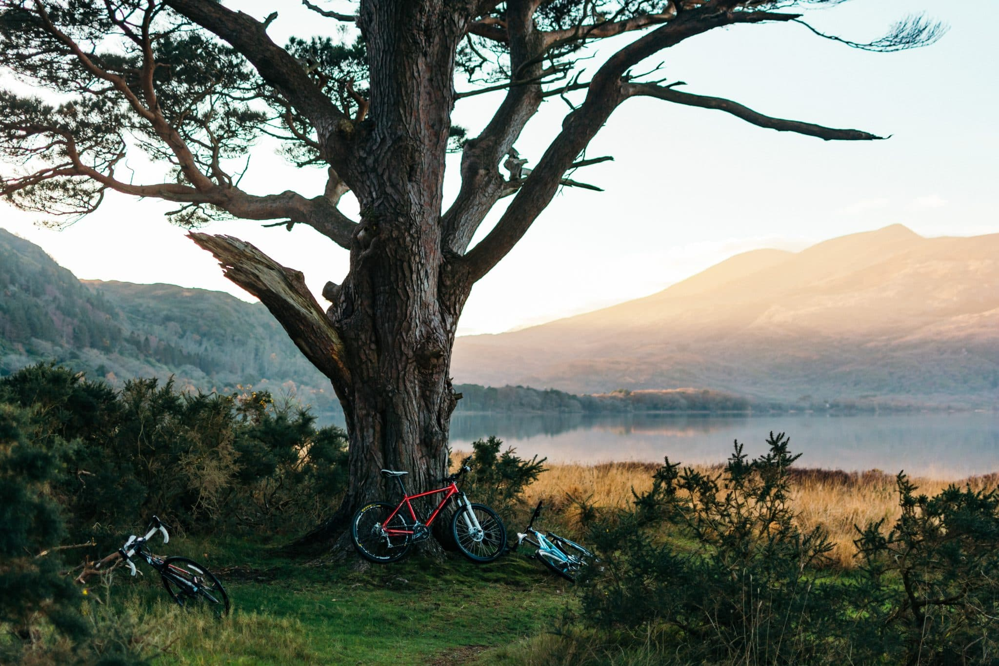 an Irish honeymoon lake