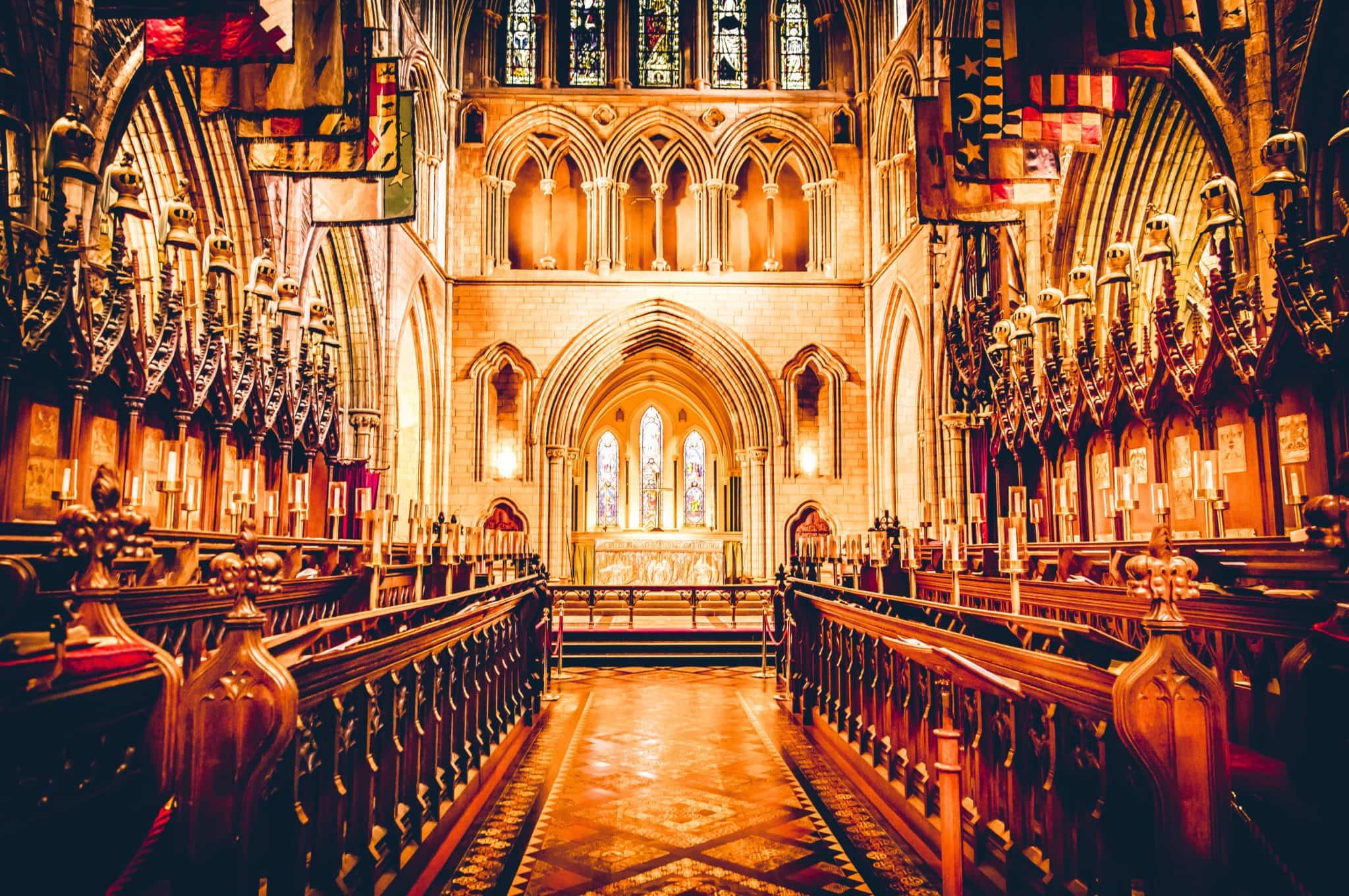grand cathedral in Dublin to get married in