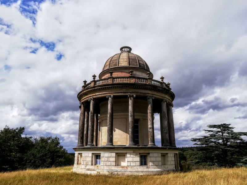 Etruscan Folly at Highclere Castle