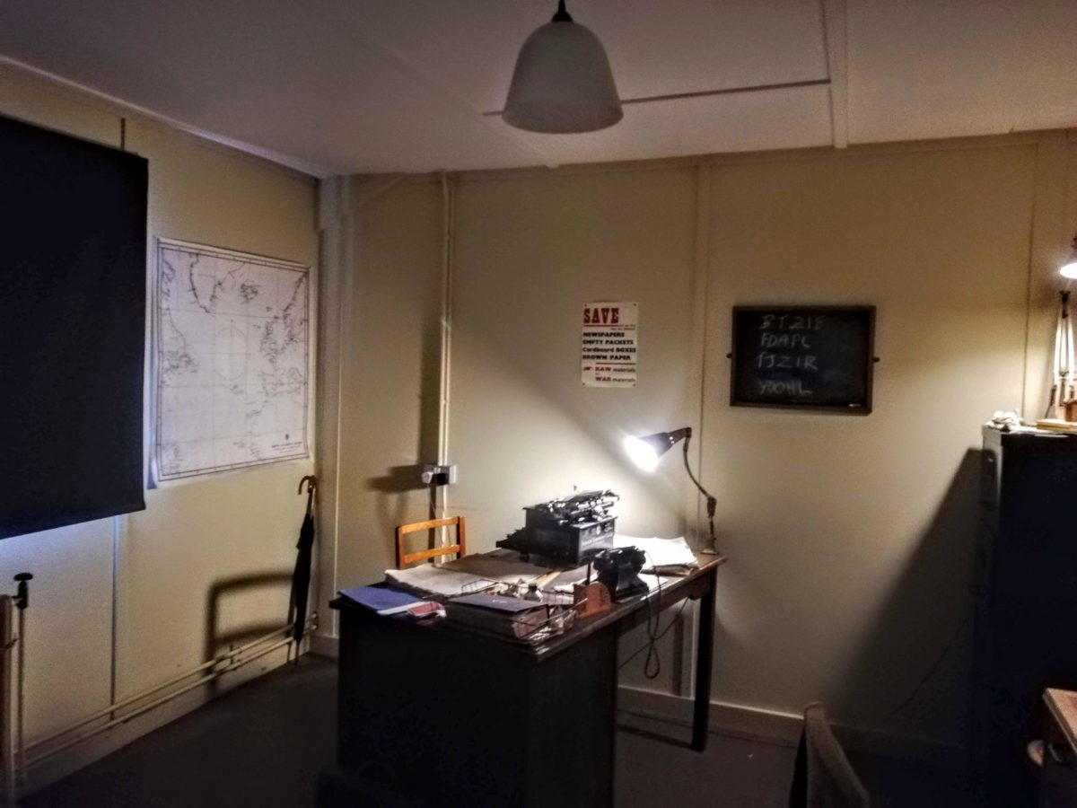 Alan Turings office in Bletchley Park