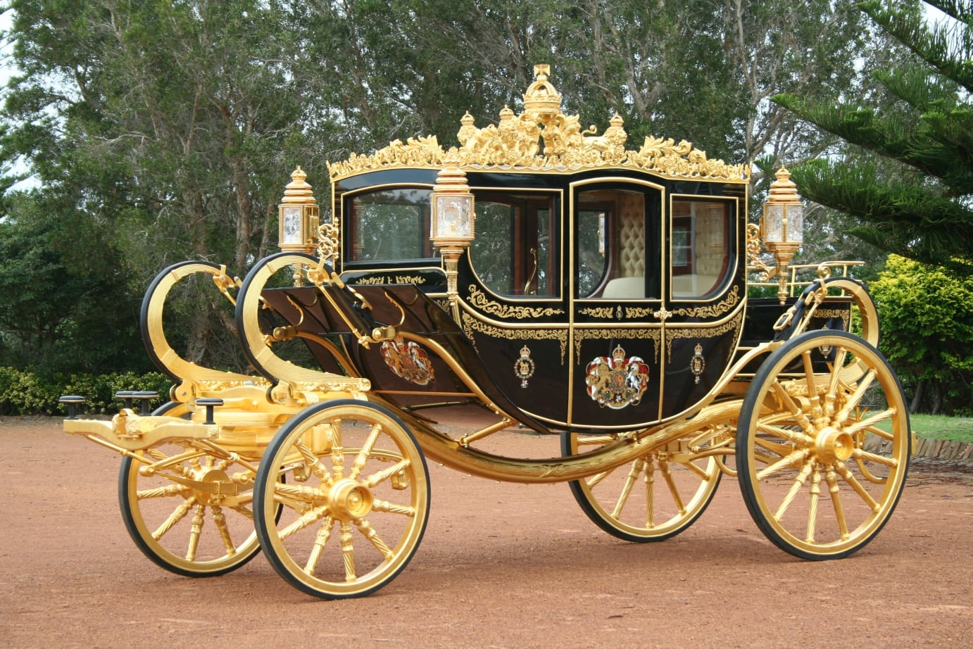 Coronation Coach at Buckingham Palace