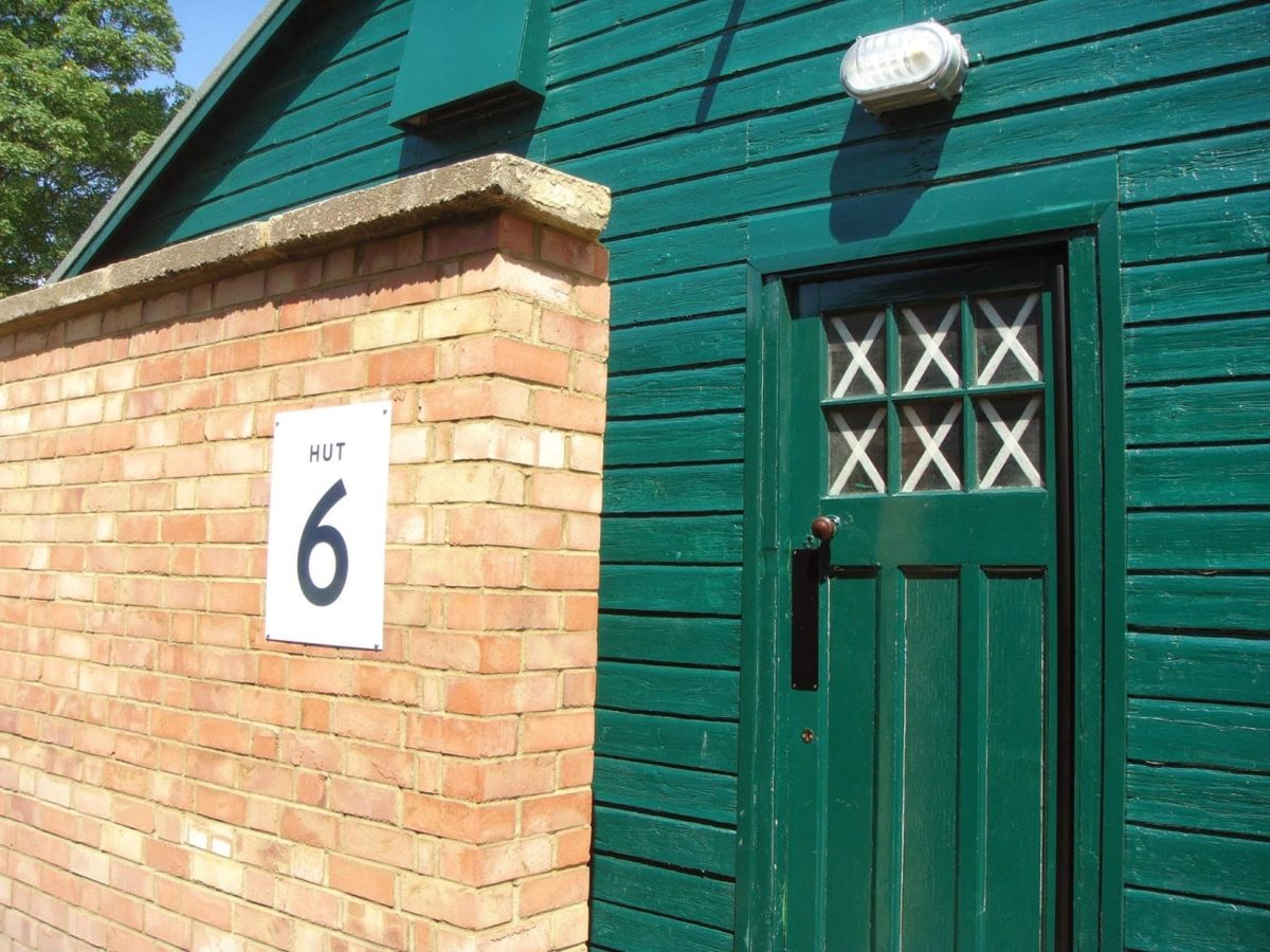 Hut 6 where Alan Turing worked at Bletchley park