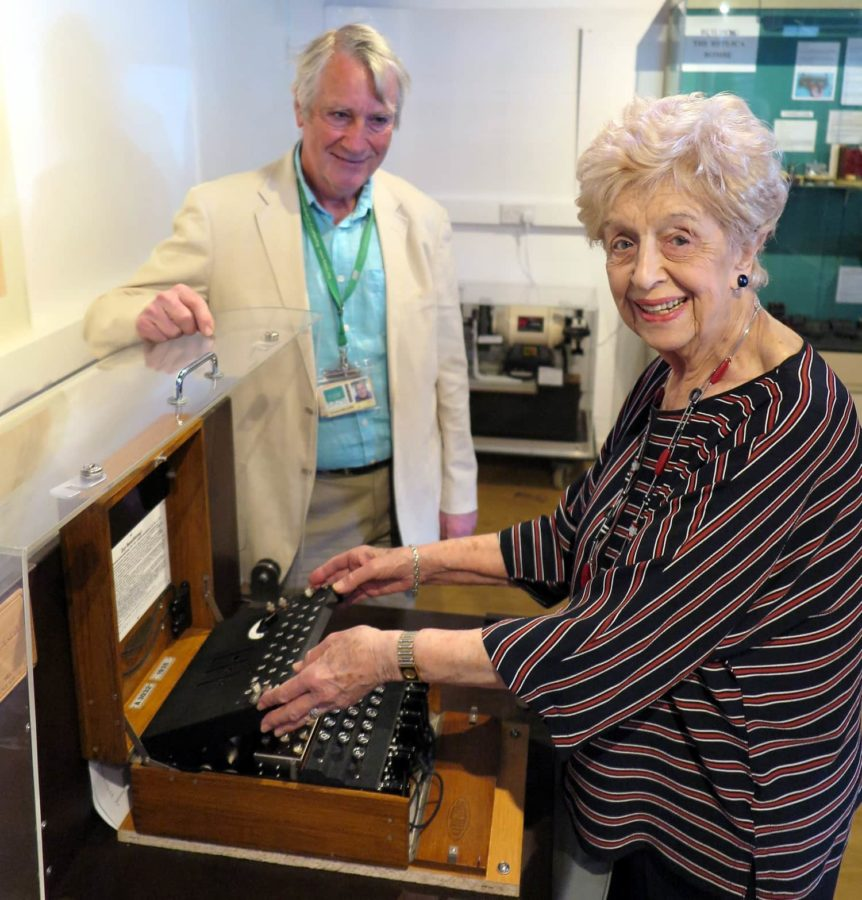 a celebration of the work done during WWII at Bletchley Park