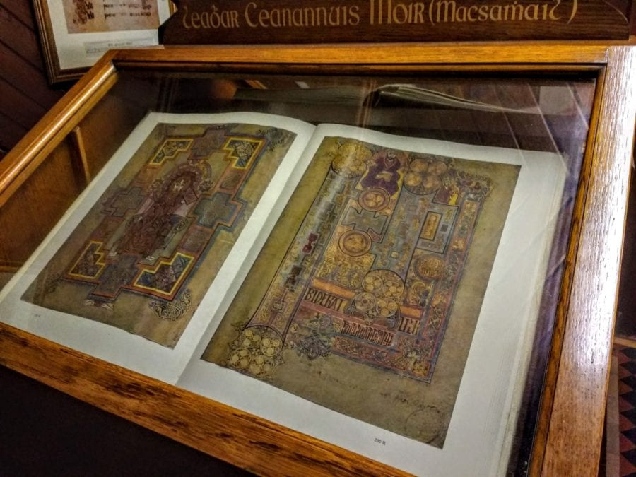 Book of Kells in Kells