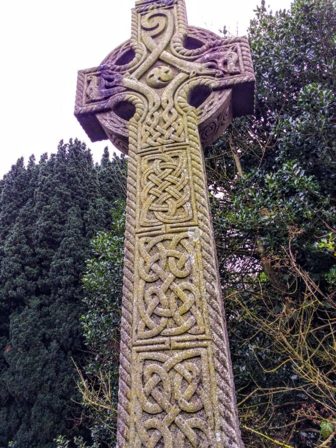 high cross in Kells Ireland