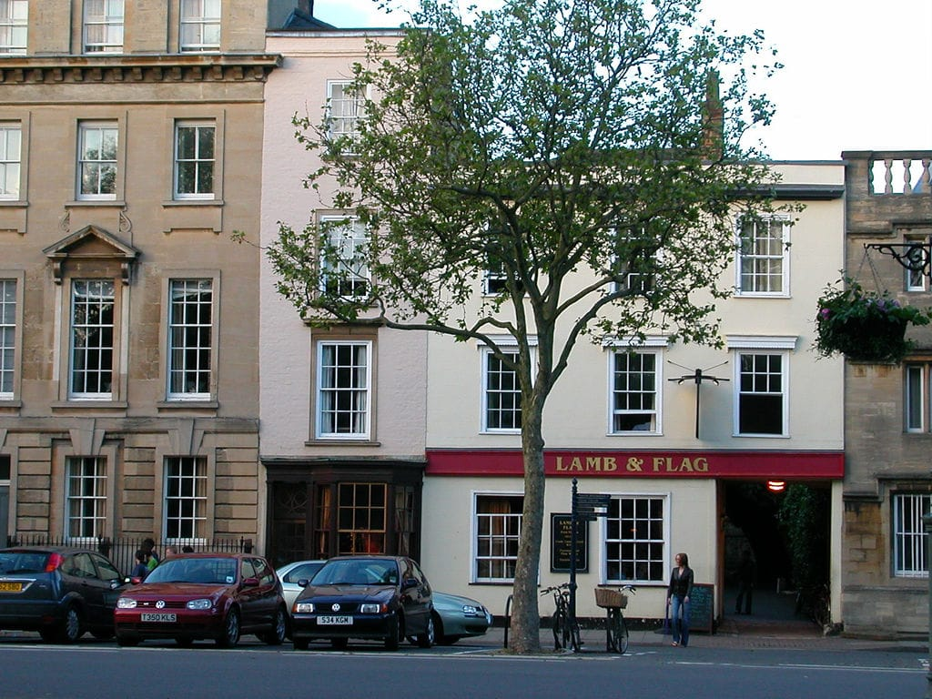 Lamb and Flag pub in Oxford