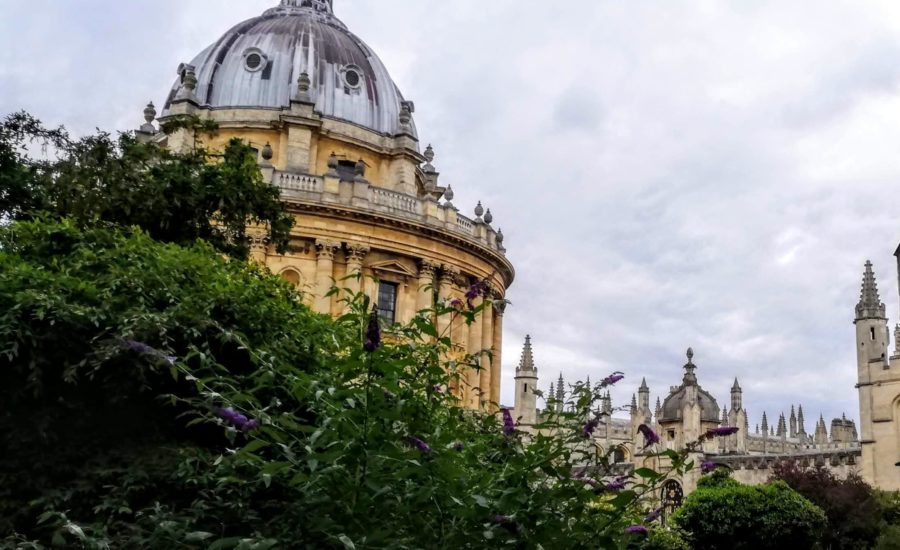 view of the Radcliffe Camera at Oxford University - what to see in Oxford