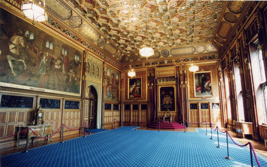 Robing room for the Queen