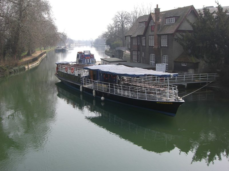 Salter's steamers on the river in Oxford