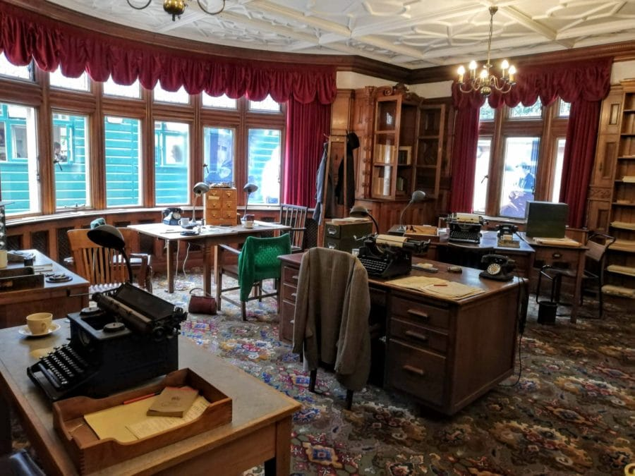 room at Bletchley Park were codebreakers worked