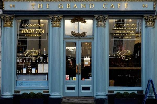 The Grand Cafe in Oxford
