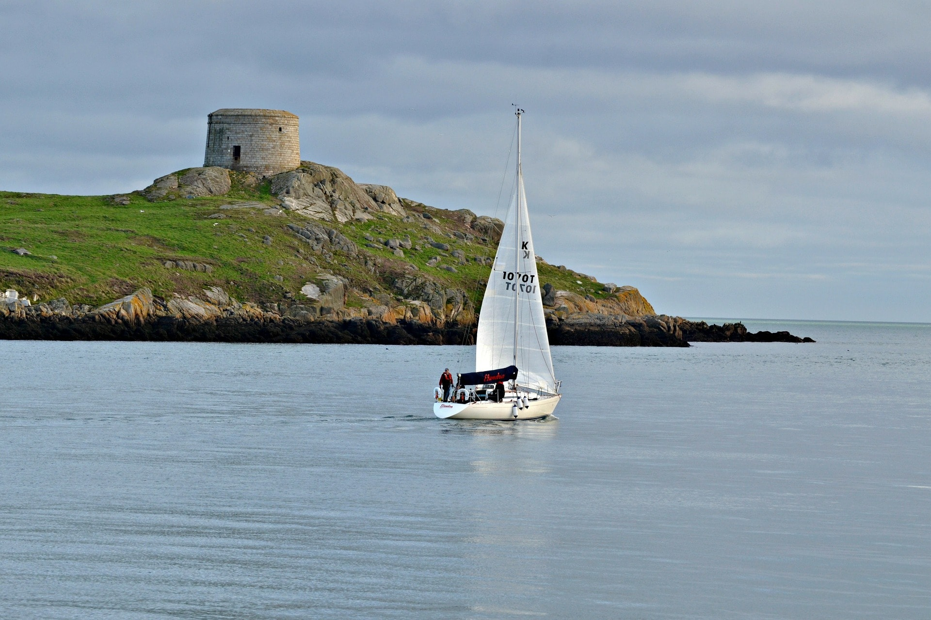 the Martello tower from Dublin