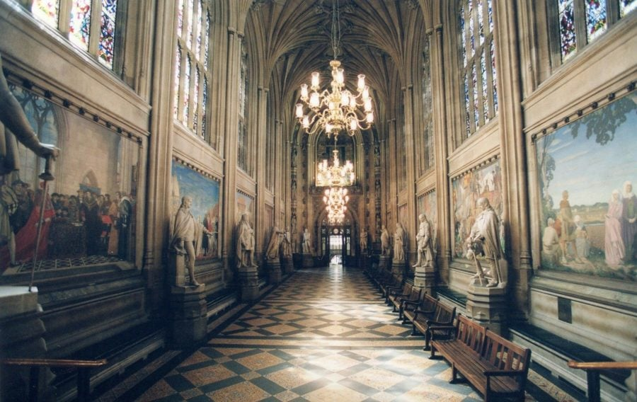 Parliament Hall in Westminster Palace