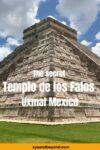 The secret Templo de los Falos at Uxmal Mexico