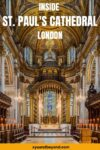 Inside St. Paul's Cathedral London tickets and tours