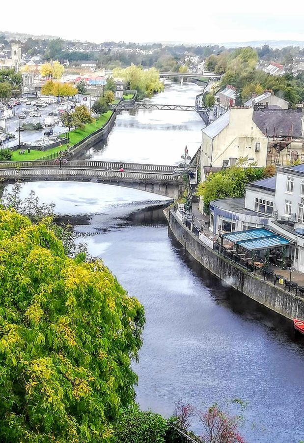 view of the Nore river in Kilkenny