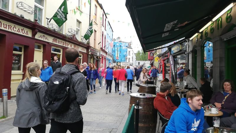 48 hours in Galway wandering the streets