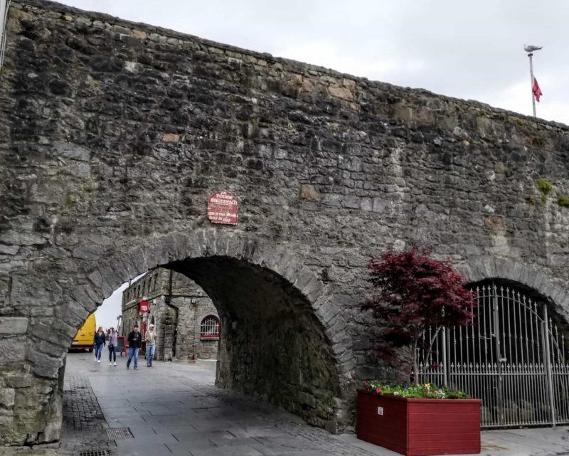 medieval Spanish gates in Galway