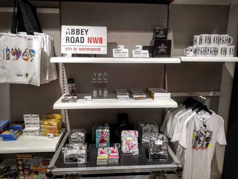 more pictures inside the Abbey Road studio shop