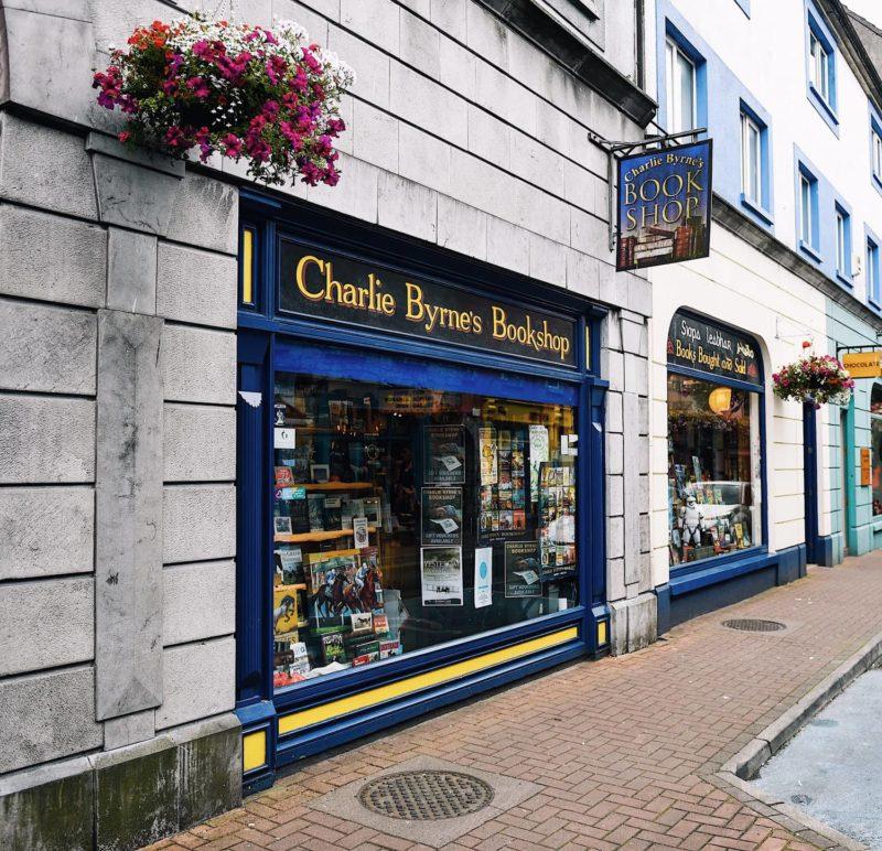 Charlie Byrnes bookshop Galway