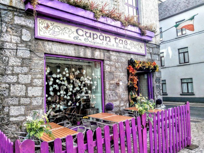 Cupan Tae Galway QUay Street