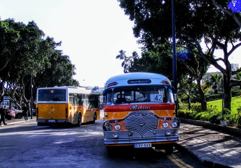 old buses in Malta