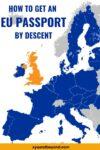 How do I get an EU Passport and EU Citizenship?