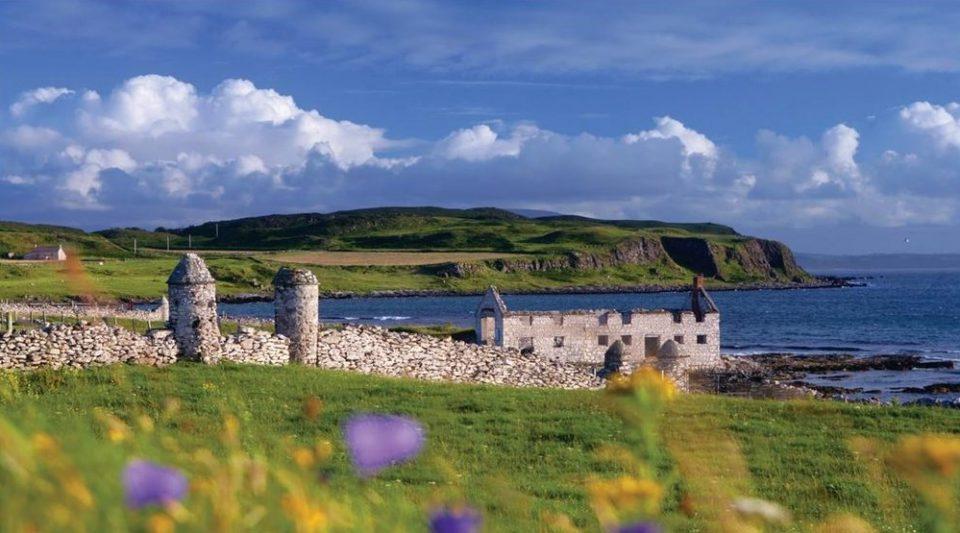 rathlin island ruins Ireland bucket list